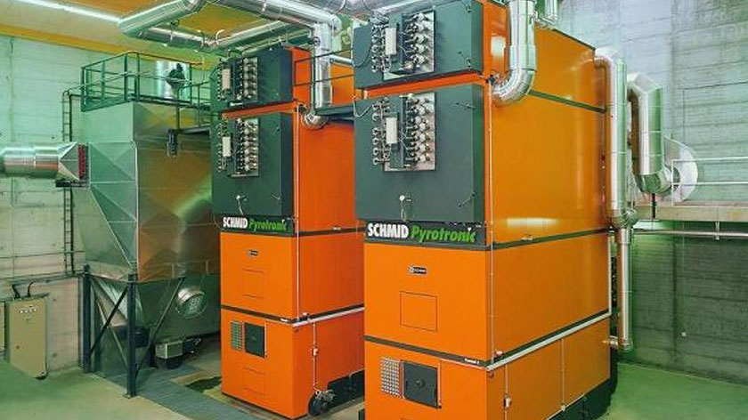 Complete system design, supply and installation. Distributor of Schmid biomass boilers in the UK and ROI